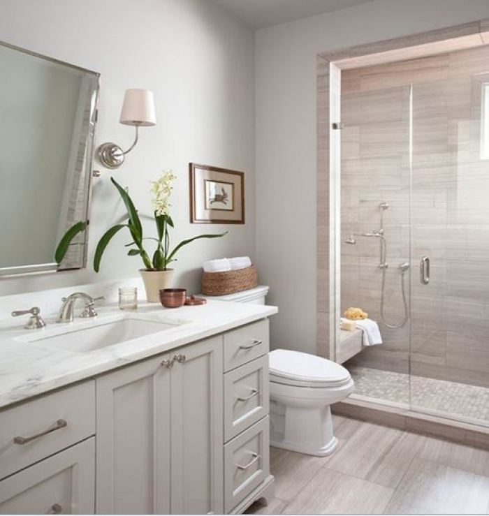 bathroom nature ideas