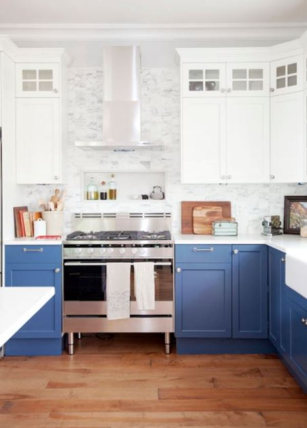 Colored Kitchen
