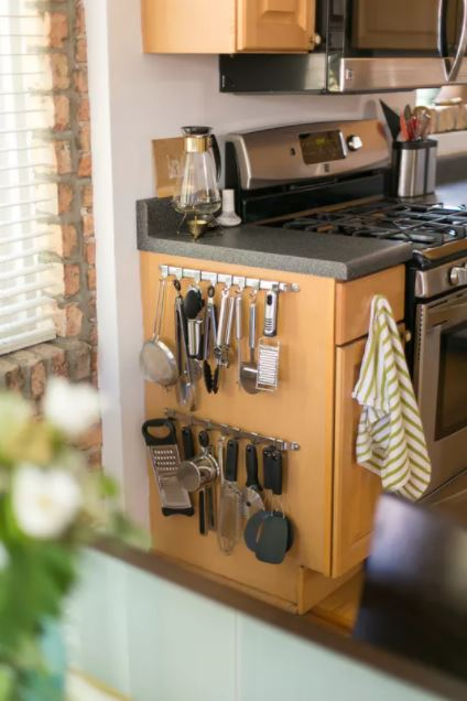 small u shaped kitchen storage ideas