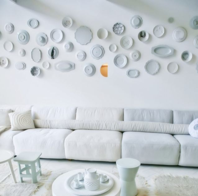 wall with Heirlooms