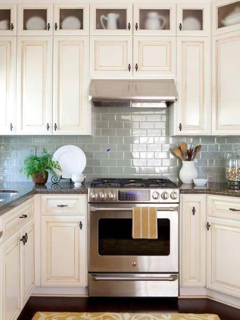 kitchen small backsplash
