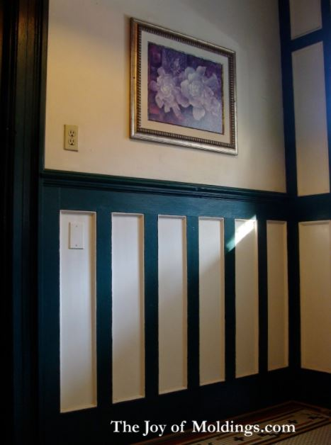 wainscoting tall painted