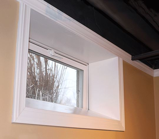 interior bay window trim ideas