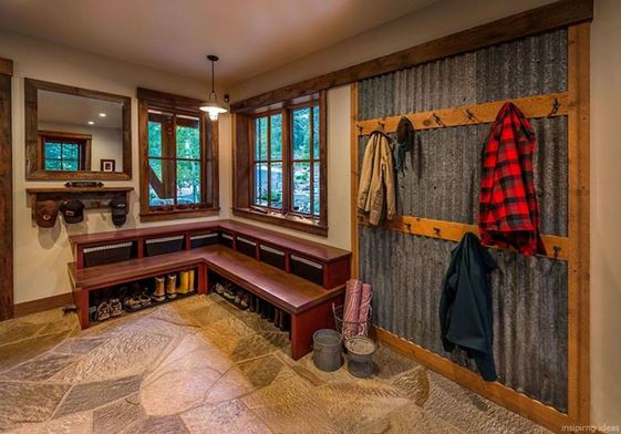 window trim ideas for cabins
