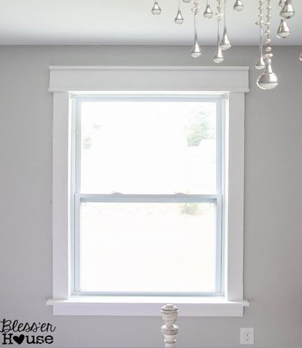 window trim ideas contemporary