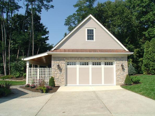 detached garage ceiling ideas