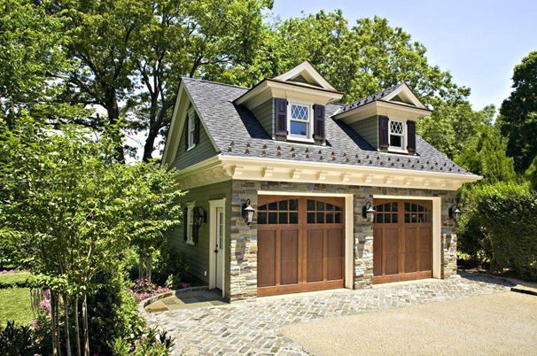 detached double garage conversion ideas