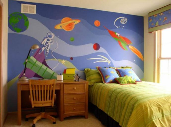 outer space themed room ideas