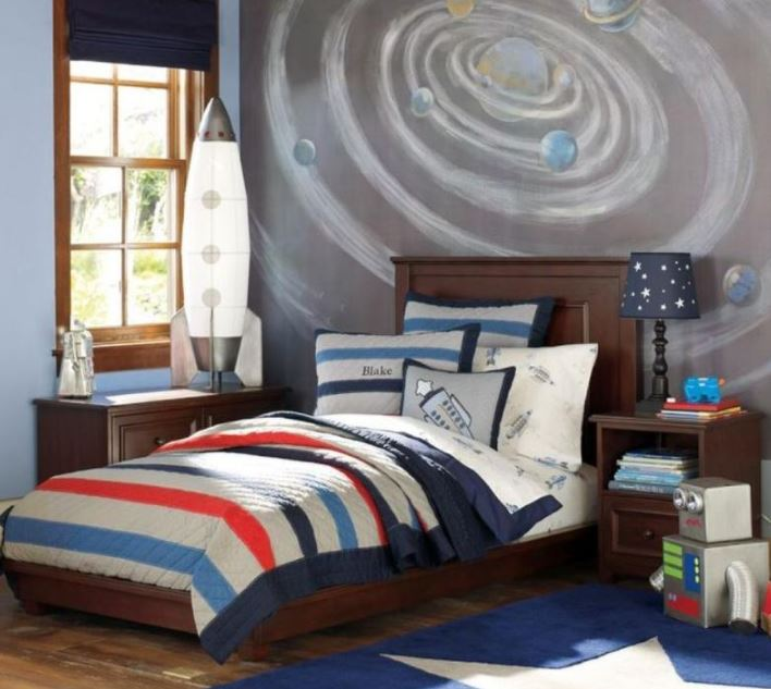 space themed room uk
