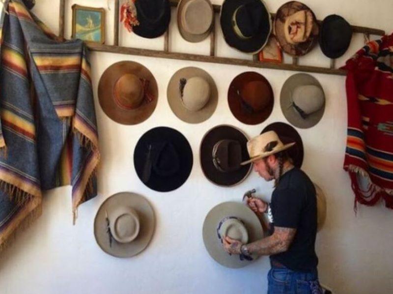 cowboy hat rack ideas