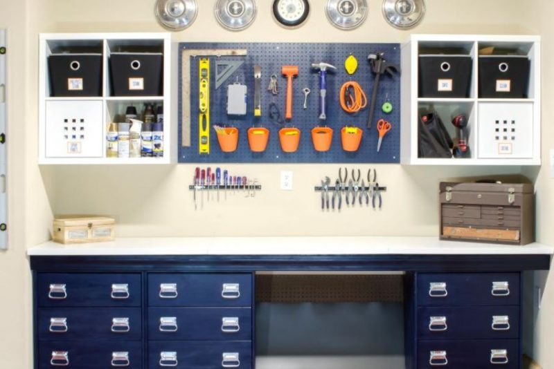 garage wall shelving ideas