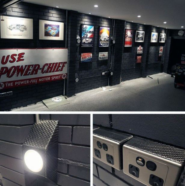 garage interior wall ideas