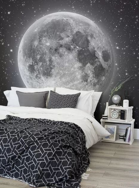 space themed baby rooms