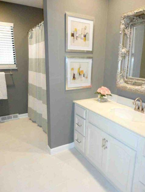 20+ Creative Grey Bathroom Ideas to Inspire You; Let's ...