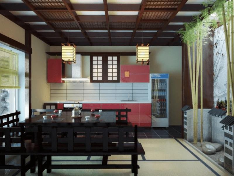 Japanese kitchen nook