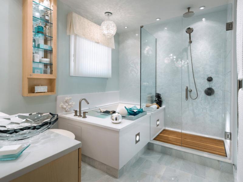 personal spa shower idea