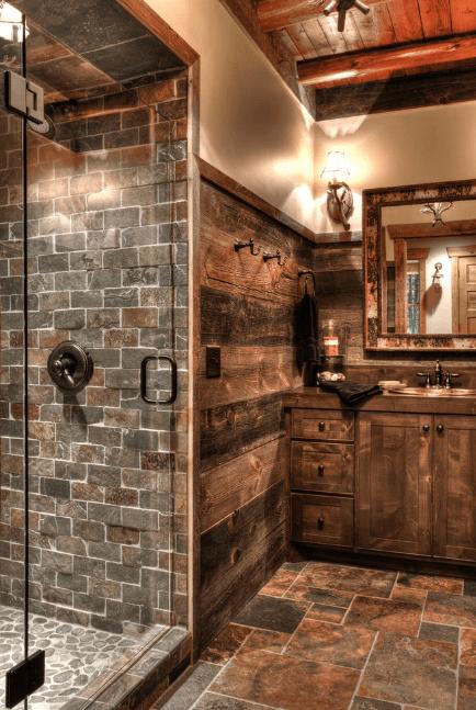 Stone Lodge Bathroom