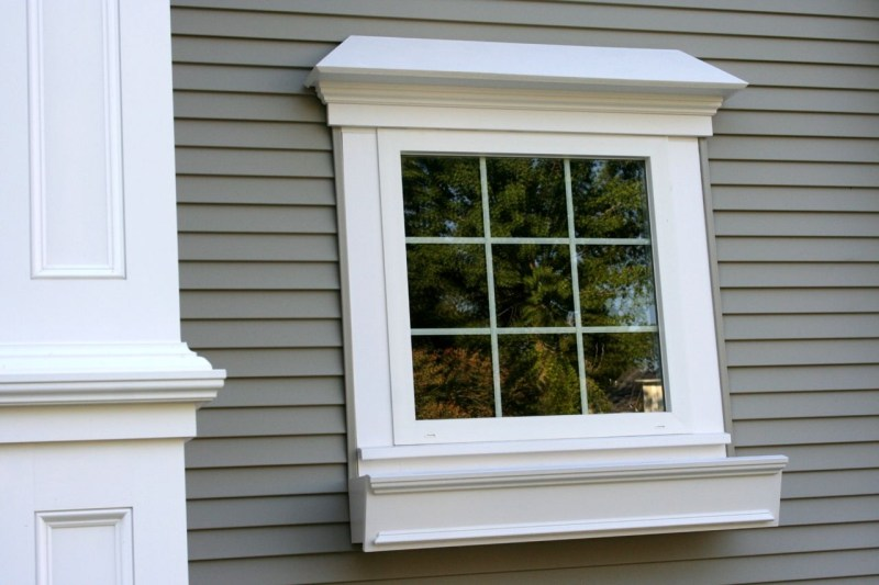 PVC window trim