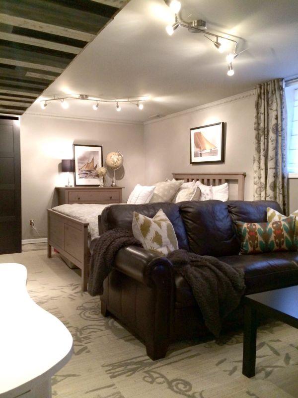 Small basement apartment