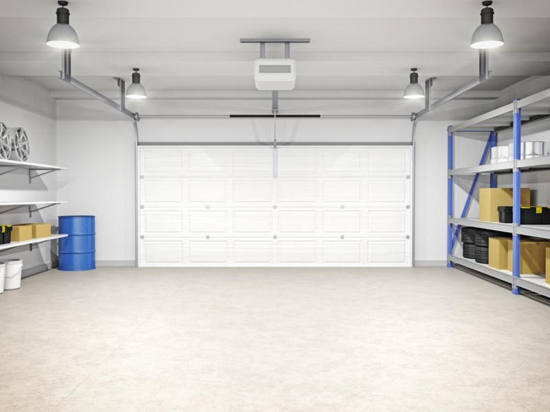 White Garage Ideas