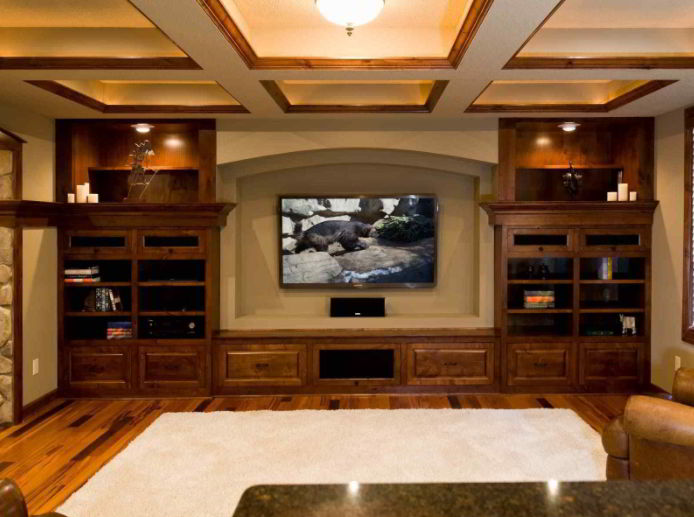 Inviting Home Theater