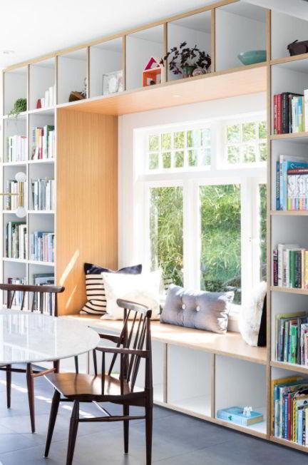 Built-in Bookshelves Ideas