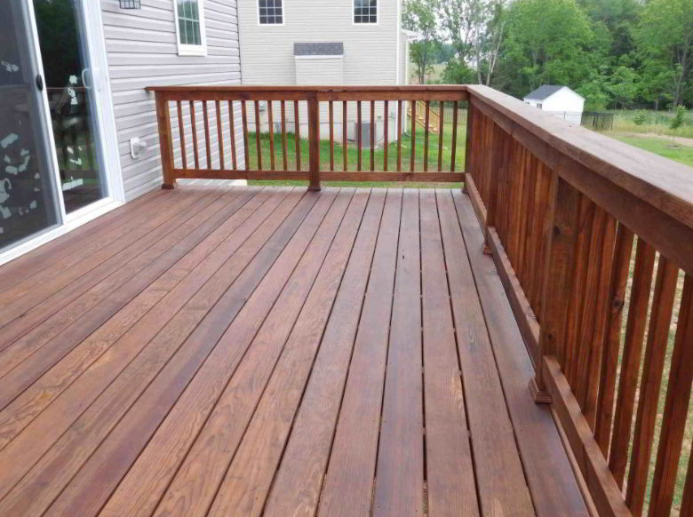 Dark Brown Deck Stain Ideas