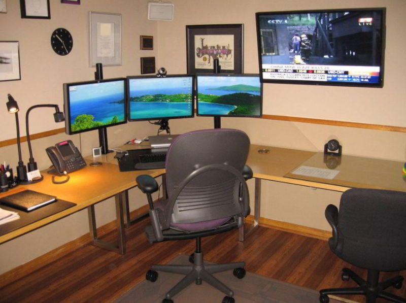 corner l shaped desk