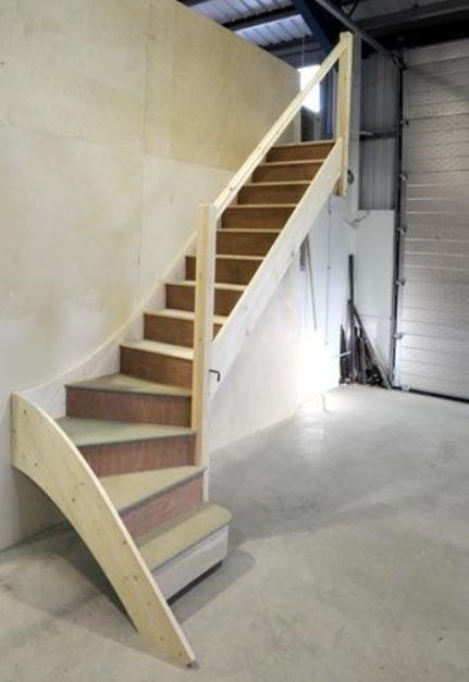 Traditional Loft Staircase Concept