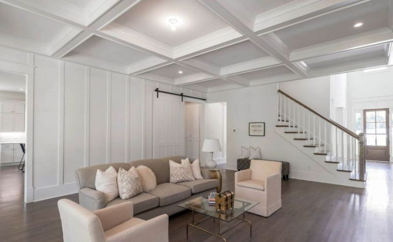 Unique Pattern of Coffered Ceiling