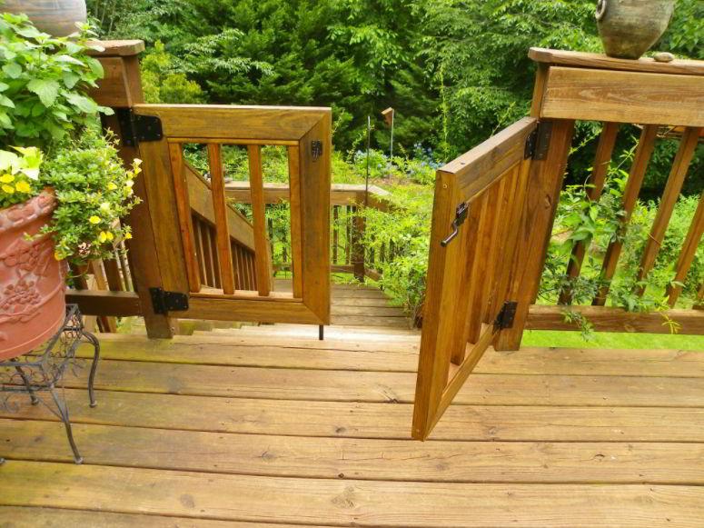 gate deck ideas