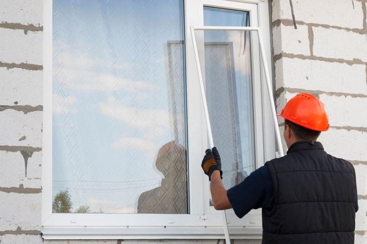 construction of apartment windows