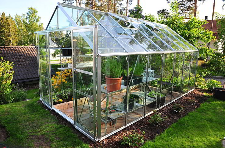 Greenhouses and Solar panels