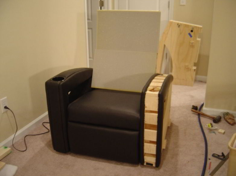 DIY Home Theater Chair