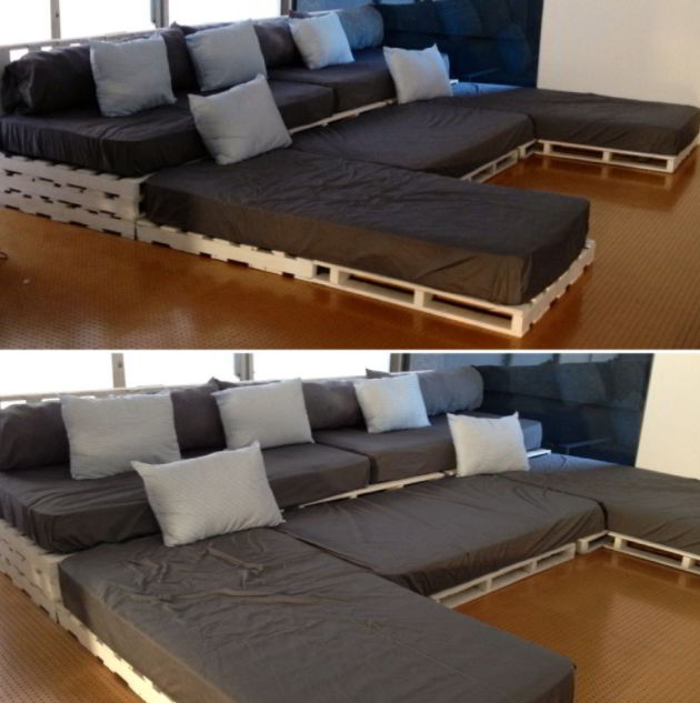 DIY home theater seats