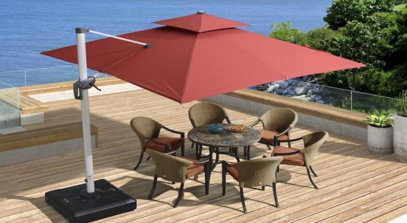 Umbrella Deck Design