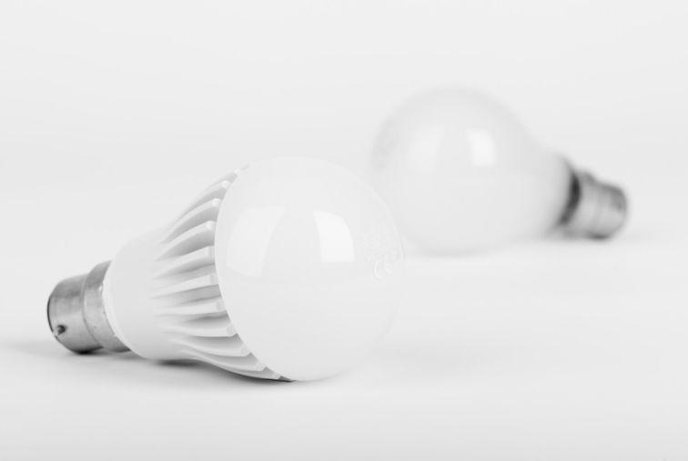efficient light bulbs around the home
