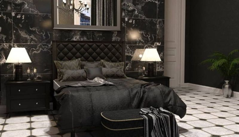 Gothic Master Bedroom with Modern Touch