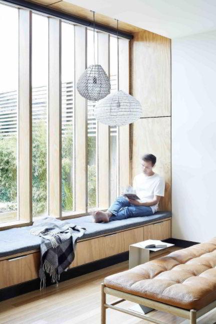 Cozy Sitting Space Window Sill