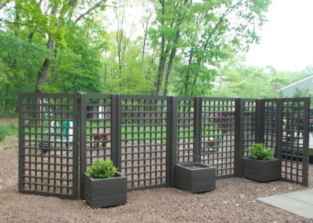 Simple Black Fence Ideas