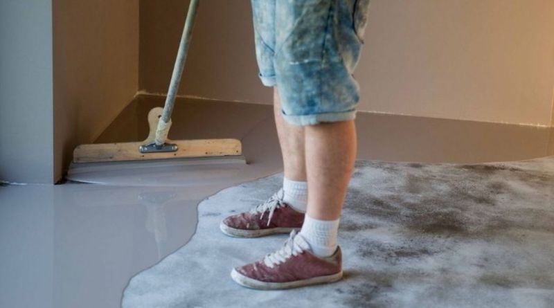 simple green to clean epoxy floor