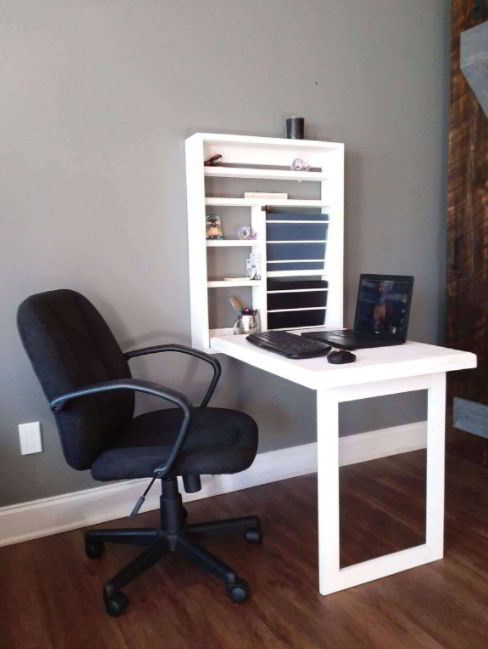 Murphy Style Desk Computer