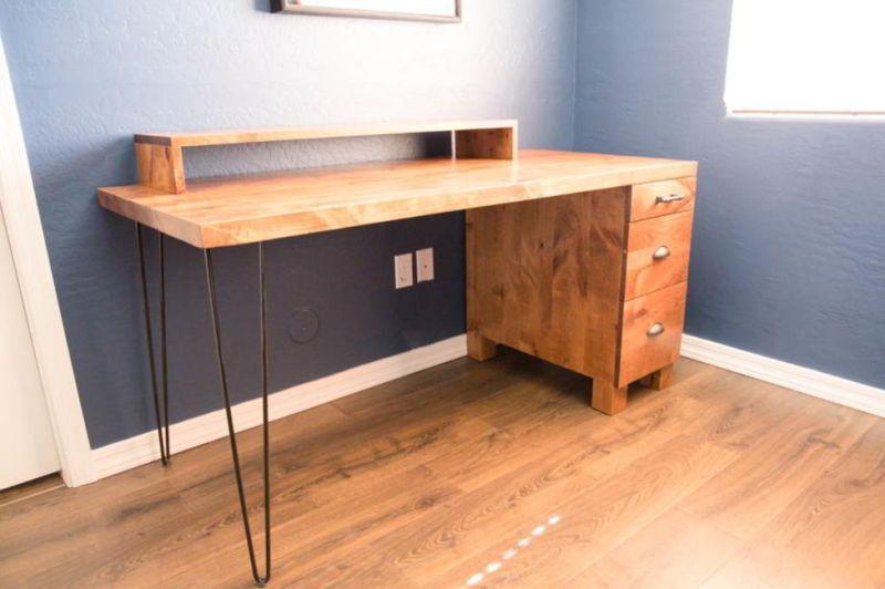 Rustic Minimalist Desk Picture
