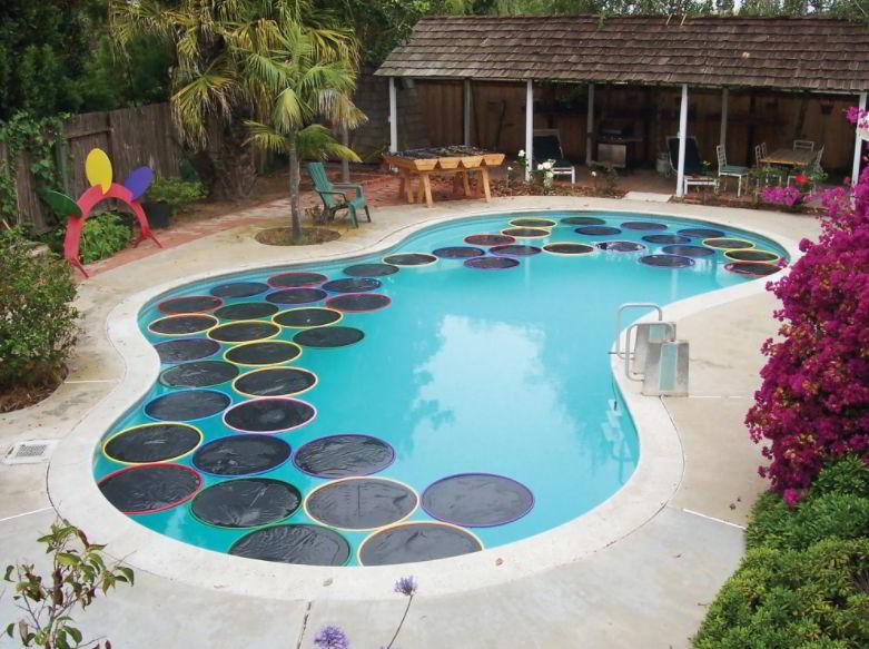 Hula Hoop for pool