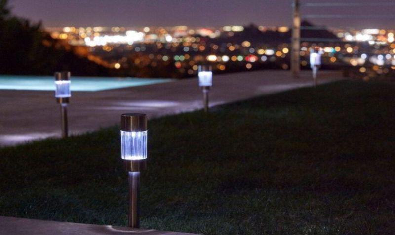 Solar driveway lighting ideas