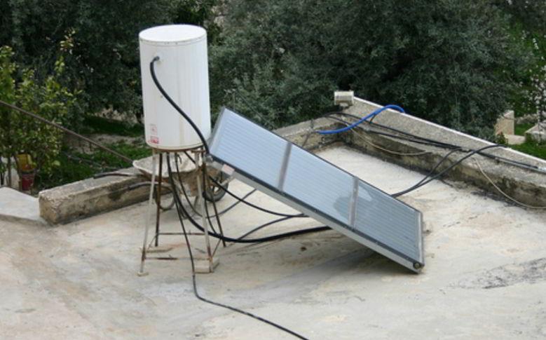build solar water heater