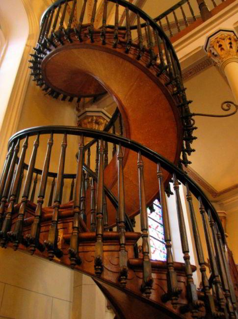 Loretto Chapel Staircase, Santa Fe, New Mexico