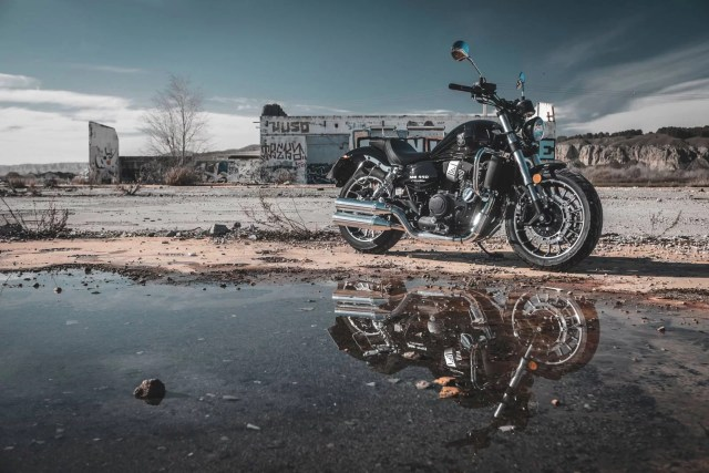 motos custom económicas