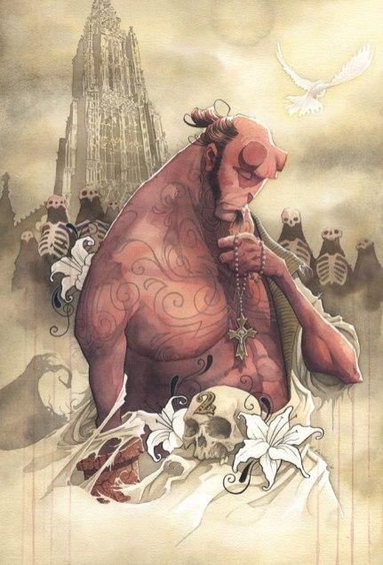 Redemption gris grimly ron perlman mike mignola hellboy guillermo del toro