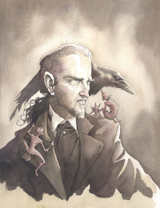 The Magician gris grimly crow raven george robert